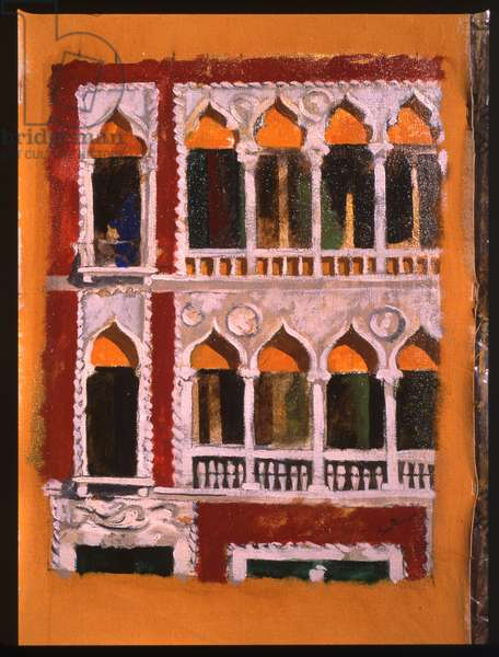 Facade (oil on canvas)