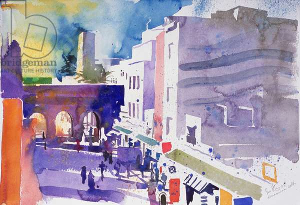Essaouira Gate (w/c on paper)