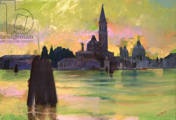 Giorgio and Salute, 2005 (oil on canvas)