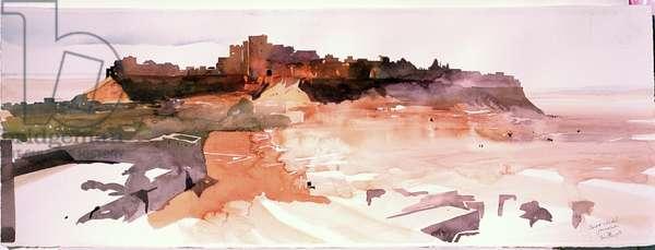 Desert Citadel, Jaiselmer, 2007 (w/c on paper)