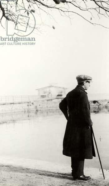 Igor Stravinsky, harbour of Morges, 1915
