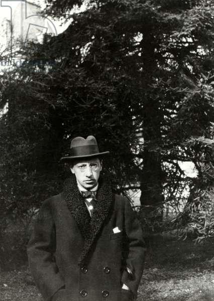 Igor Stravinsky at Morges, 1915