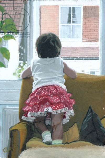 Looking Out: Jemima, 2007 (oil on canvas)
