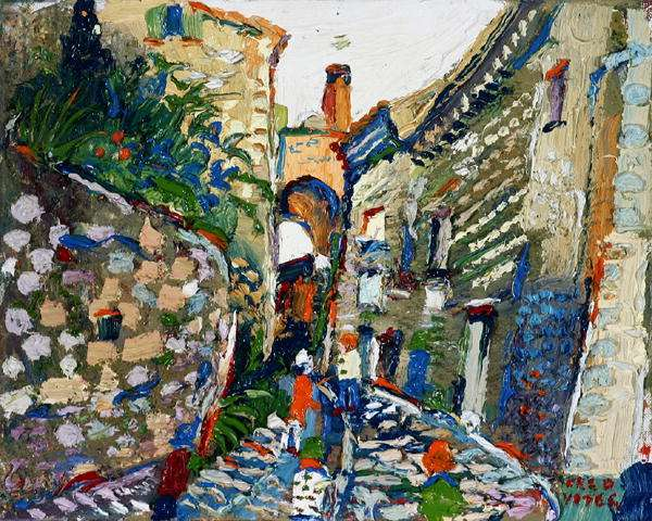 Segueret, Provence (oil on canvas)