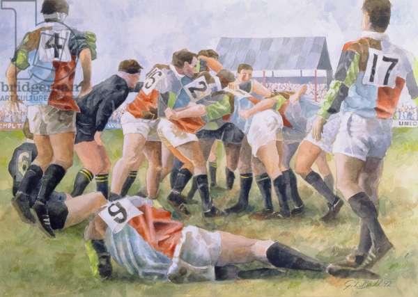 Rugby Match: Harlequins v Wasps, 1992 (w/c)