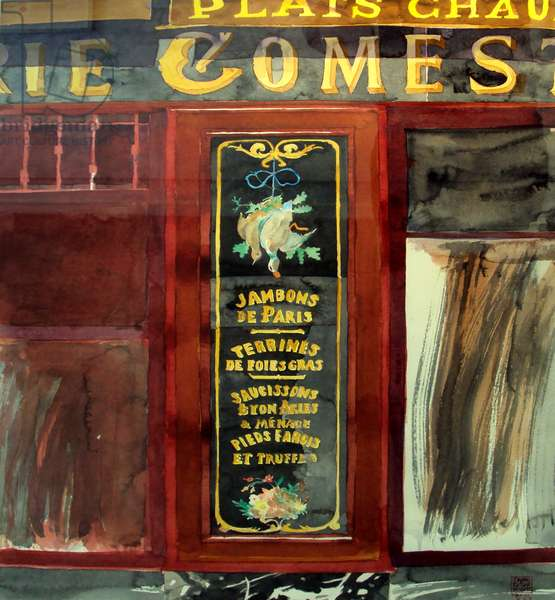 Gomes, 1997 (watercolour)
