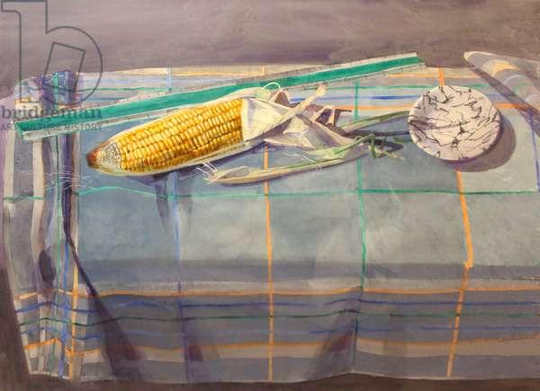 Corn, 1988 (watercolour)