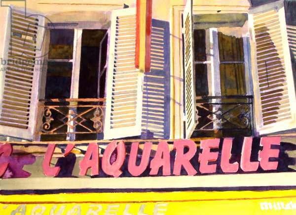 L'Aquarelle, c.1980-99 (watercolour)