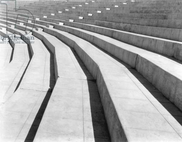Stadium, Mexico City, 1927 (b/w photo)
