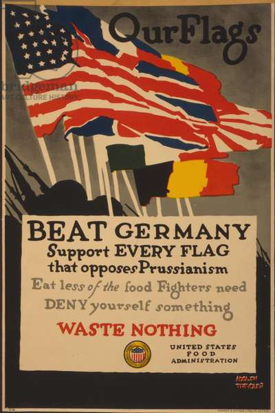 Beat Germany (colour litho)