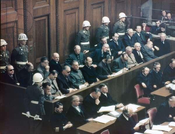 Nuremberg Trial, November 1945 (photo)