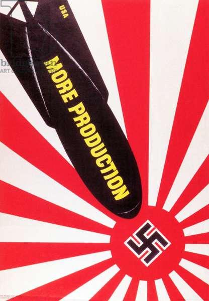 More Production, 1943 (colour litho)