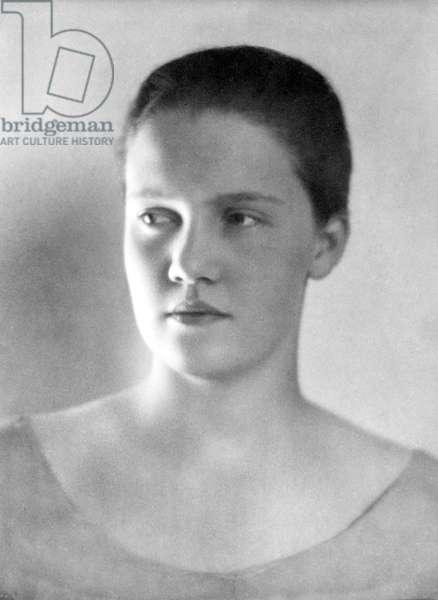 Maria Orozco Romero, Mexico City, c.1925 (b/w photo)