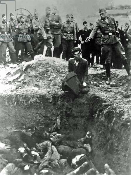 """The Last Jew in Vinnytsia"", Ukraine, 1941 (b/w photo)"