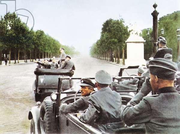 Hitler in Paris, 28th June 1940 (photo)