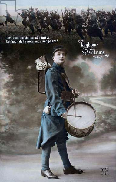 Drum of Victory, 1915 (colour litho)