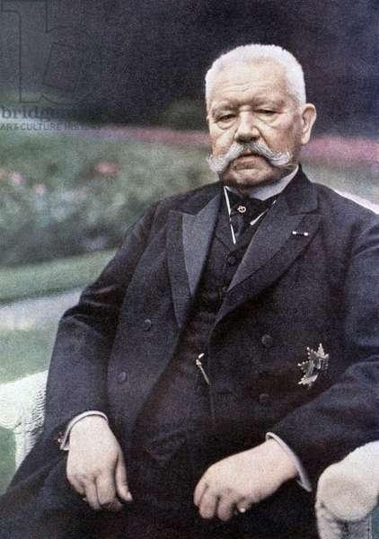 Paul von Hindenburg, 1927 (autochrome)