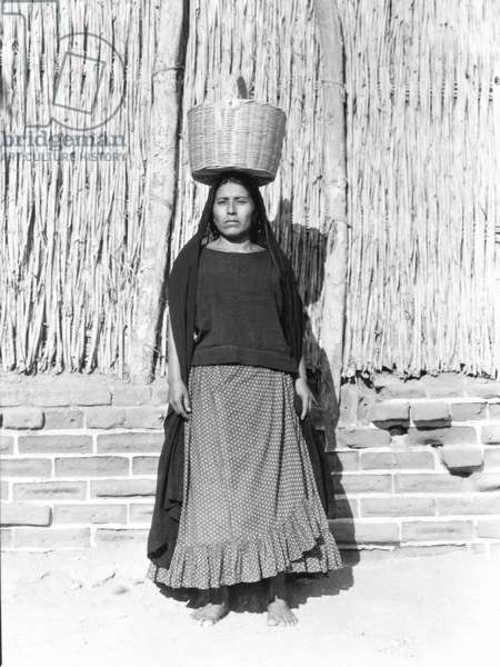 Woman in Juchitan, Mexico, 1929 (b/w photo)