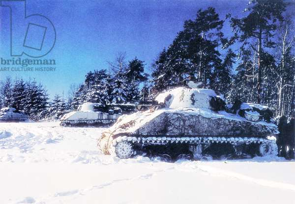 Battle of the Bulge, 20th December 1944 (photo)