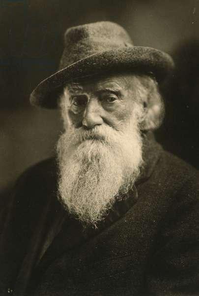 JOHN BURROUGHS (1837-1921) American naturalist. Photograph, c.1920.