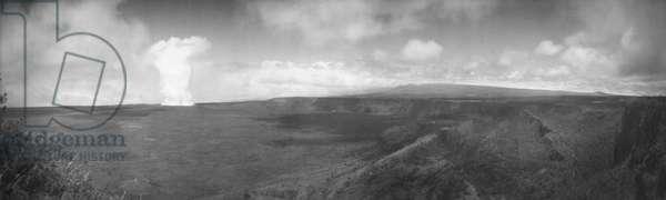 HAWAII: KILAUEA. Crater of Kilauea, Hawaii, c.1902.