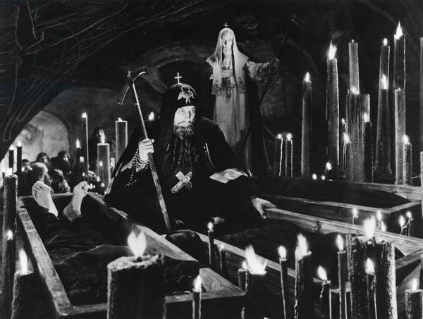 FILM: IVAN THE TERRIBLE Nikolai Cherkasov as Czar Ivan IV in 'Ivan the Terrible,' directed by Sergei Eisenstein.