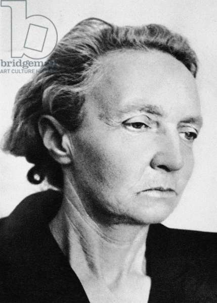 IRENE JOLIOT-CURIE (1897-1956). French physicist.