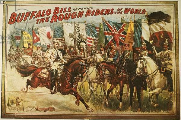 BUFFALO BILL: POSTER, 1902 Buffalo Bill Wild West Show lithograph poster.