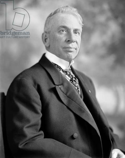 WILLIAM ALDEN SMITH (1859-1932). United States Representative and Senator from Michigan. Led the American inquiry into the sinking of the RMS 'Titanic.' Photograph, c.1912.