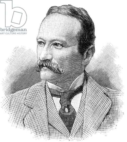 ARRIGO BOITO (1842-1918) Italian composer and librettist. Wood engraving, 1893.