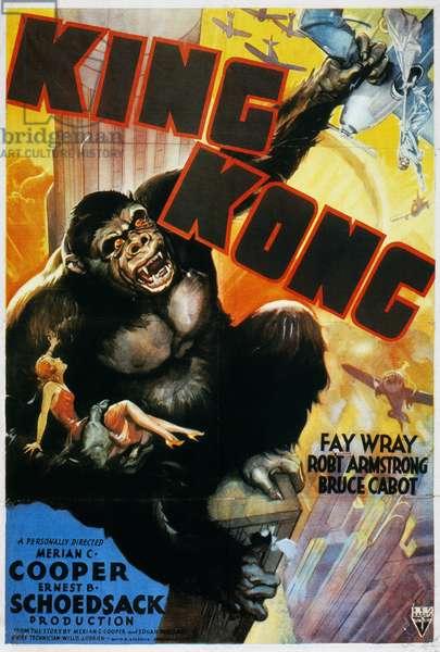 KING KONG POSTER, 1933 'King Kong' film poster, 1933.