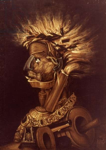 ALLEGORY OF FIRE Giuseppe Arcimboldo: Allegory of Fire.
