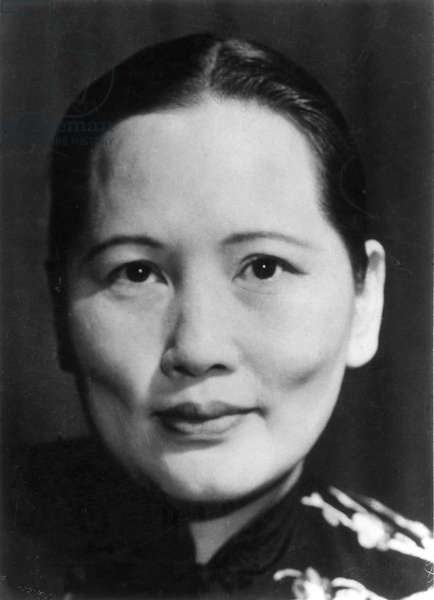 MADAME SUN YAT-SEN (1890-1981). Soong Ching-ling. Wife of Chinese politician Sun Yat Sen.