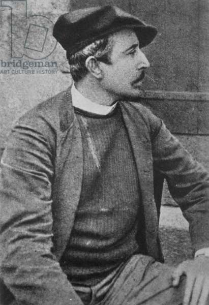 PAUL GAUGUIN (1848-1903) French painter. Photographed in 1888.