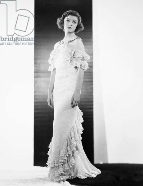 MYRNA LOY (1905-1993) American film actress. Photographed in the early 1930s.
