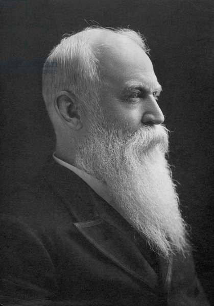 WILLIAM MORRIS STEWART (1827-1909). American lawyer and legislator; photographed in 1900.