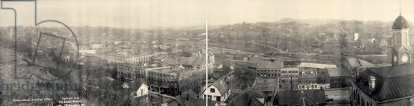 ILLINOIS: GALENA, c.1915 View of Galena, Illinois, photographed from the high school, c.1915.