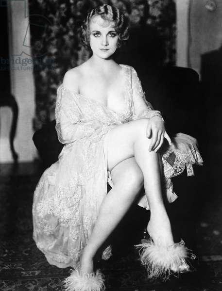 CAROL LOMBARD (1908-1942) American actress.
