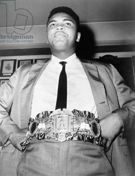 MUHAMMAD ALI (1942-2016) Né Cassius Clay. American heavyweight boxer. Photograph, September 1964.