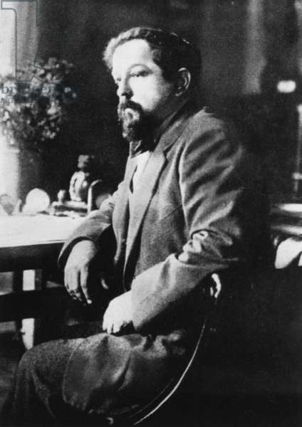 CLAUDE DEBUSSY (1862-1918) French composer.