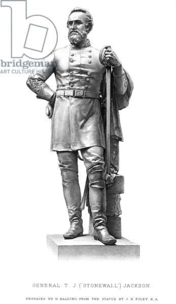 STONEWALL JACKSON (1824-1863). Thomas Jonathan 'Stonewall' Jackson. American Confederate general. Stipple engraving, 19th century.
