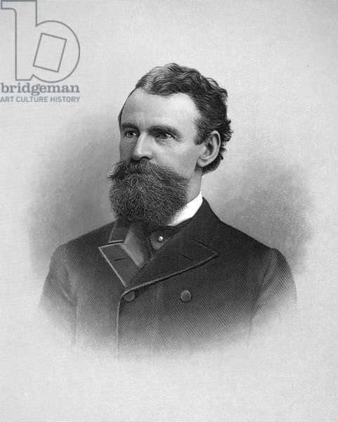 WILLIAM ANDREWS CLARK (1839-1925). American mineowner and politician. Steel engraving, 1896.