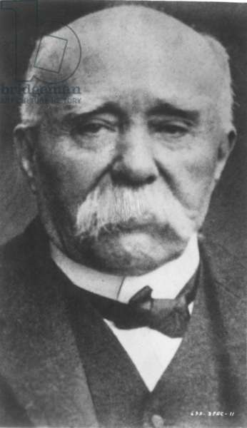 GEORGES CLEMENCEAU (1841-1929). French statesman.