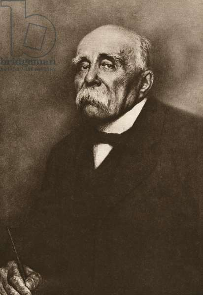 GEORGES CLEMENCEAU (1841-1929). French statesman. Photograph, c.1915.