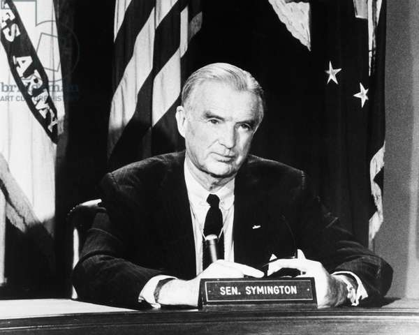 WILLIAM STUART SYMINGTON (1901-1988) American politician. Photographed 1966.