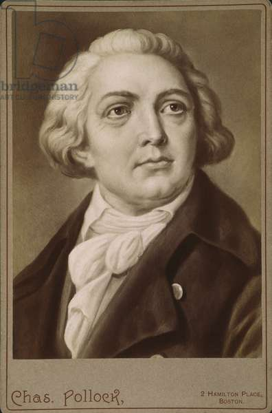 GIOVANNI PAISIELLO  (1740-1816). Italian composer. American cabinet photograph of a painting by Ernst Hader, late 19th century.