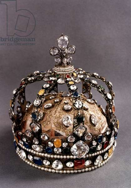 LOUIS XV (1710-1774) King of France, 1715-1774. Crown worn by King Louis XV of France at his coronation in 1722.