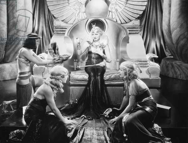 FILM: CLEOPATRA, 1934 Claudette Colbert in the title role of the 1934 motion picture 'Cleopatra.'