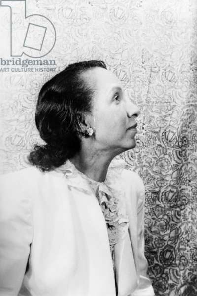 SHIRLEY GRAHAM DU BOIS (1896-1977). American author, composer and civil rights activist, and wife of W.E.B. Du Bois. Photographed by Carl Van Vechten, 1946.