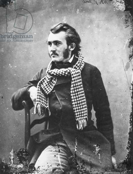 PAUL GUSTAVE DORÉ (1833-1883). French illustrator and painter. Photographed c.1855 by Nadar.